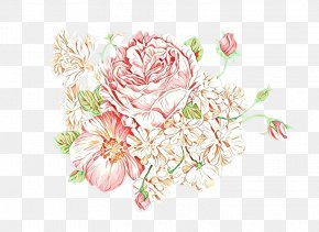 Peony Chinese Peony - Bouquet Of Flowers Drawing PNG