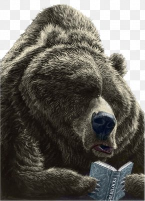Brown Bear - Brown Bear, Brown Bear, What Do You See? Book Reading Drawing Illustration PNG