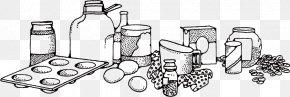 Vector Sketch Jar - Baking Ingredient Clip Art PNG