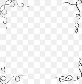 Line Border Vector - Black Designer PNG