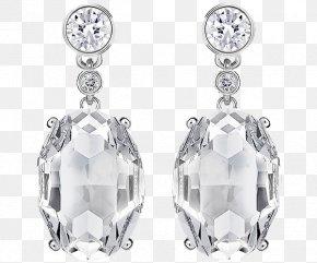 Swarovski Jewelry Gemstone Earrings - Earring Swarovski AG Jewellery Necklace Vintage Clothing PNG