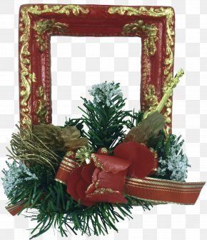 Tiff - Christmas Ornament New Year Tree Picture Frames PNG
