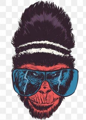 Cartoon Gorilla - Gorilla Drawing Artist Illustration PNG
