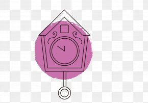 Small House Vector Shape Alarm Clock - Shape Euclidean Vector Icon PNG