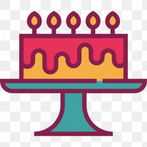 Plate Of Birthday Cake - Birthday Cake Party Clip Art PNG