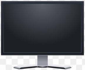 Lcd Display Monitor Image - Computer Monitor Liquid-crystal Display Clip Art PNG