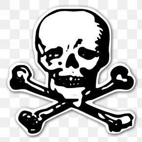 Totenkopf - Sticker Totenkopf Human Skull Symbolism Skull And Bones Clip Art PNG