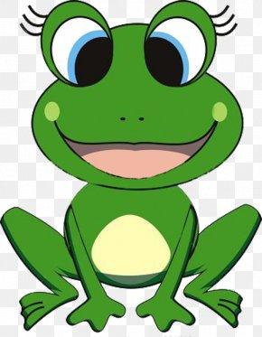Frog Cartoon Cliparts - Frog Cartoon Clip Art PNG