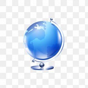 Vector Blue Globe - Graduation Ceremony Square Academic Cap Euclidean Vector PNG