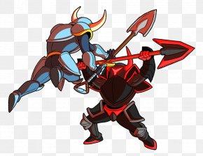 Strike The Earth Shovel Knight Arranged - Shovel Knight Fan Art Drawing Game PNG