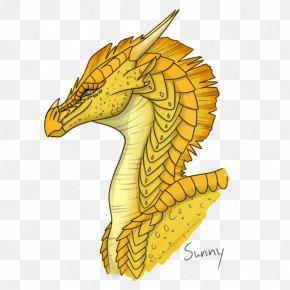Dragon - Dragon Wings Of Fire Seahorse Fan Art Drawing PNG