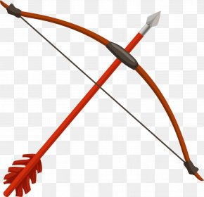 Bow And Arrow Material Picture - Bow And Arrow Archery PNG