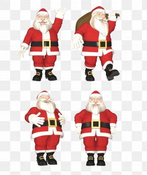 Santa Claus Creative - Santa Claus Ded Moroz Snegurochka Christmas Ornament PNG