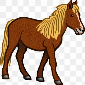 Walking Horse Cliparts - Tennessee Walking Horse Foal Clip Art PNG