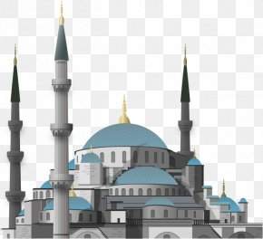 Castle Mosque - Grand Mosque Of The Sultan Of Riau PNG