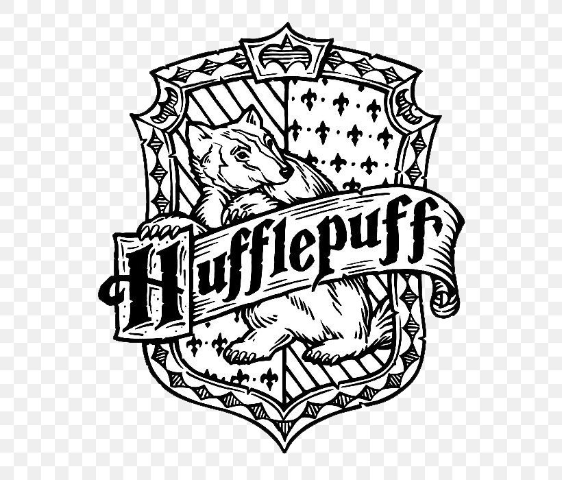Harry Potter: The Coloring Book Helga Hufflepuff Colouring ...