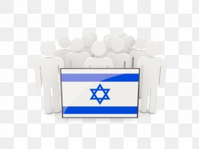 Flag - Jerusalem Flag Of Israel Hexagram PNG