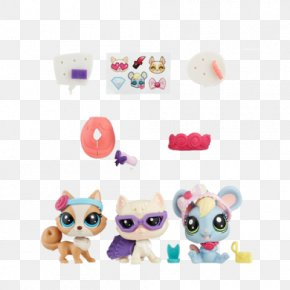 Littlest Pet Shop Silhouette - Littlest Pet Shop Glam Gala Toy Hasbro PNG