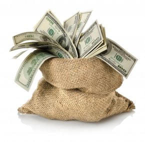 Money Bag - Money Bag Banknote Stock Photography PNG