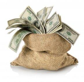 Money Bag - Money Bag Banknote Stock Photography PNG