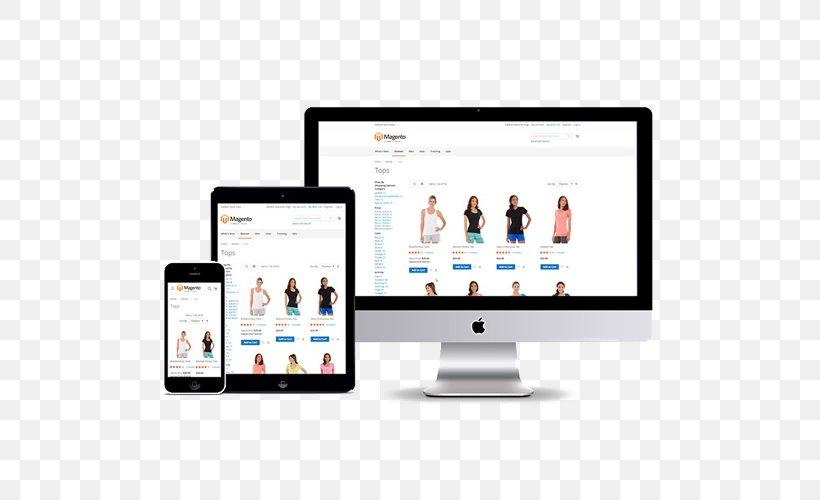 Responsive Web Design Web Development Graphic Design, PNG, 500x500px, Responsive Web Design, Brand, Communication, Computer Monitor, Corporate Identity Download Free