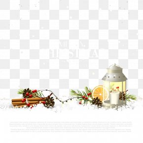 Christmas Snow Scene Buckle Clip Free HD - Christmas Card Stock Photography Clip Art PNG