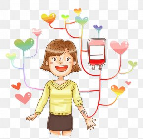 Girl,Blood Donation - Blood Donation Clip Art PNG