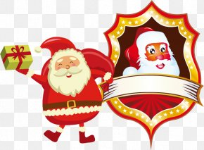 Santa Claus Christmas Vector Material - Santa Claus Christmas Clip Art PNG