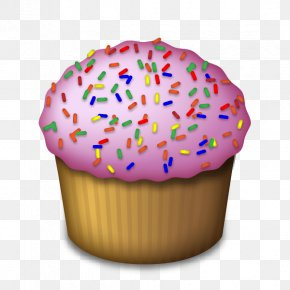Cupcake - Ice Cream Cupcake Muffin Frosting & Icing Emoji PNG
