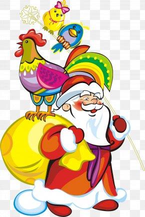 Santa Claus - Santa Claus Christmas Ded Moroz Drawing Clip Art PNG