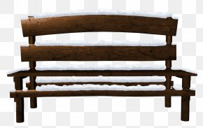 Transparent Snowy Bench Clipart - Bench Clip Art PNG