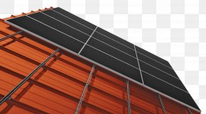 Solar Power Solar Panels Top - Solar Panels Solar Energy Photovoltaic Mounting System Rooftop Photovoltaic Power Station PNG