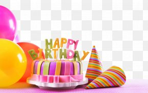 Birthday Cake - Birthday Cake Happy Birthday To You Party Wallpaper PNG