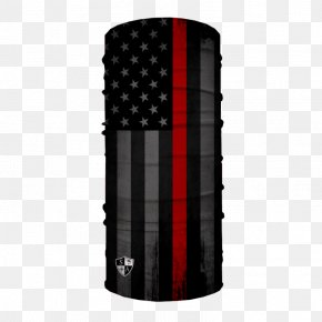 United States - Flag Of The United States The Thin Red Line Face Shield PNG