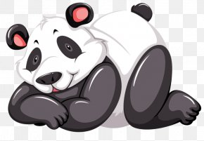 Cute Panda - Giant Panda Red Panda Bear Human Body Clip Art PNG