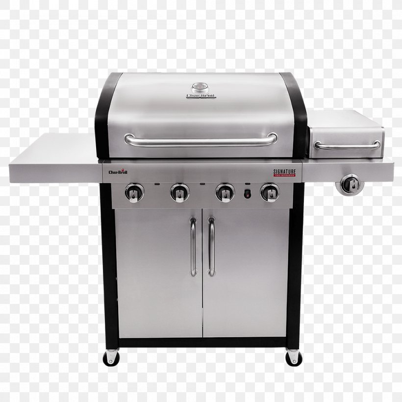 Barbecue Char-Broil TRU-Infrared 463633316 Char-Broil Signature 4 Burner Gas Grill Grilling Char-Broil Performance 463376017, PNG, 1000x1000px, Barbecue, Brenner, Charbroil 3 Burner Gas Grill, Charbroil Performance 463376017, Charbroil Truinfrared 463633316 Download Free
