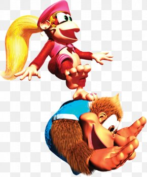 Nintendo - Donkey Kong Country 3: Dixie Kong's Double Trouble! Donkey Kong Country 2: Diddy's Kong Quest Donkey Kong Land III Donkey Kong 3 Super Nintendo Entertainment System PNG