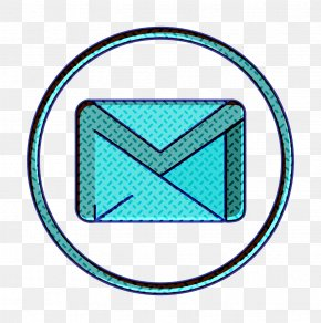Electric Blue Turquoise - Gmail Icon Google Icon Mail Icon PNG