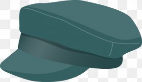 Fashion Design Hats - Cap Hat Teal PNG