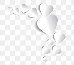 Tanabata Heart-shaped - Heart Valentine's Day Tanabata White PNG