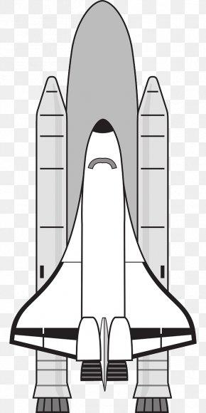 White Space Shuttle - Space Shuttle Program Clip Art PNG