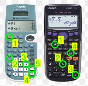 Calculator - Casio FX-83GTPLUS Scientific Calculator Texas Instruments PNG