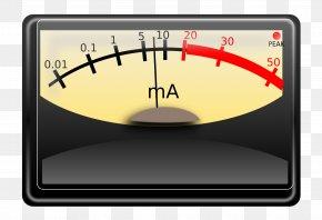 Pressure Meter - VU Meter Clip Art PNG