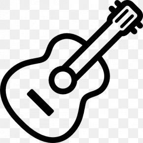 Minimal - Acoustic Guitar Musical Instruments Electric Guitar PNG