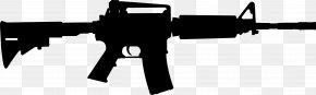 AR-15 Guns Cliparts - M4 Carbine Airsoft Gun Hop-up Metal PNG
