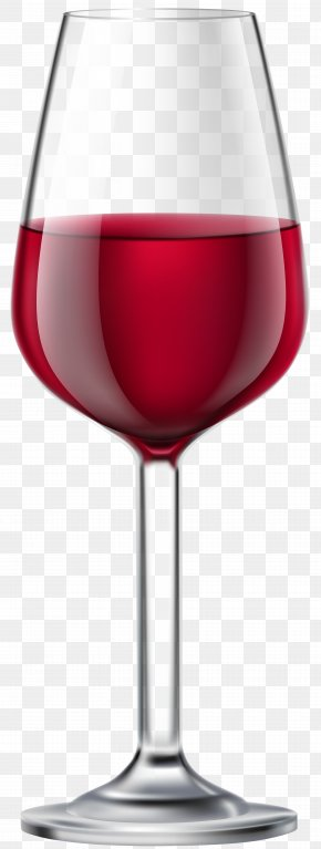 Glass Of Red Wine Transparent Clip Art Image - Red Wine Wine Glass Cocktail Clip Art PNG