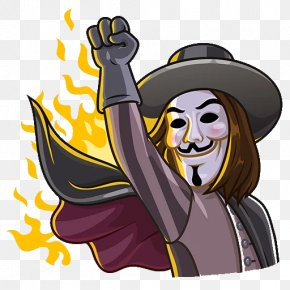 Guy Fawkes Day - Sticker Telegram Messaging Apps Clip Art PNG