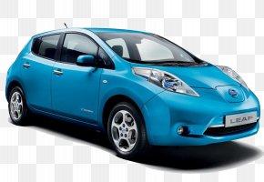Nissan - 2018 Nissan LEAF Electric Vehicle Car 2017 Nissan LEAF PNG