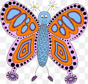 Animal Figure Butterfly - Clip Art Butterfly Animal Figure PNG