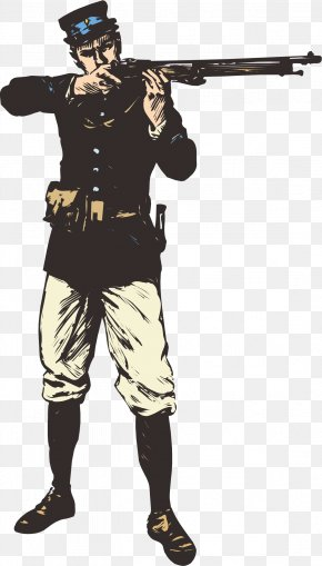 Soldiers And Soldiers - Soldier Salute Clip Art PNG